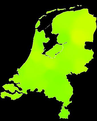 kaart Nederland